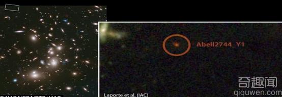 科学家发现最遥远星系 追溯到宇宙6.5亿年老