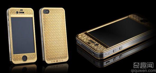 全球十大奢侈手机 不是谁都用得起