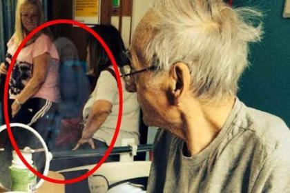 医院灵异照片:宣判死期的爷爷发生诡异怪事!