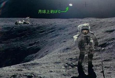 美国宇航局隐藏了月球外星人存在的证据