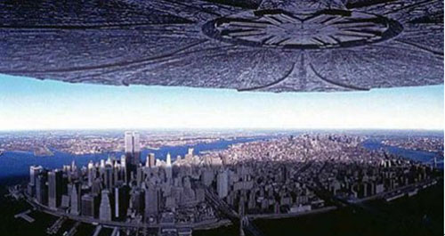 外星人入侵地球的电影