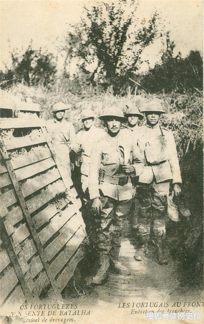 一战中的葡萄牙军队架子拉得不小,作战只有十几次多次都是只打炮