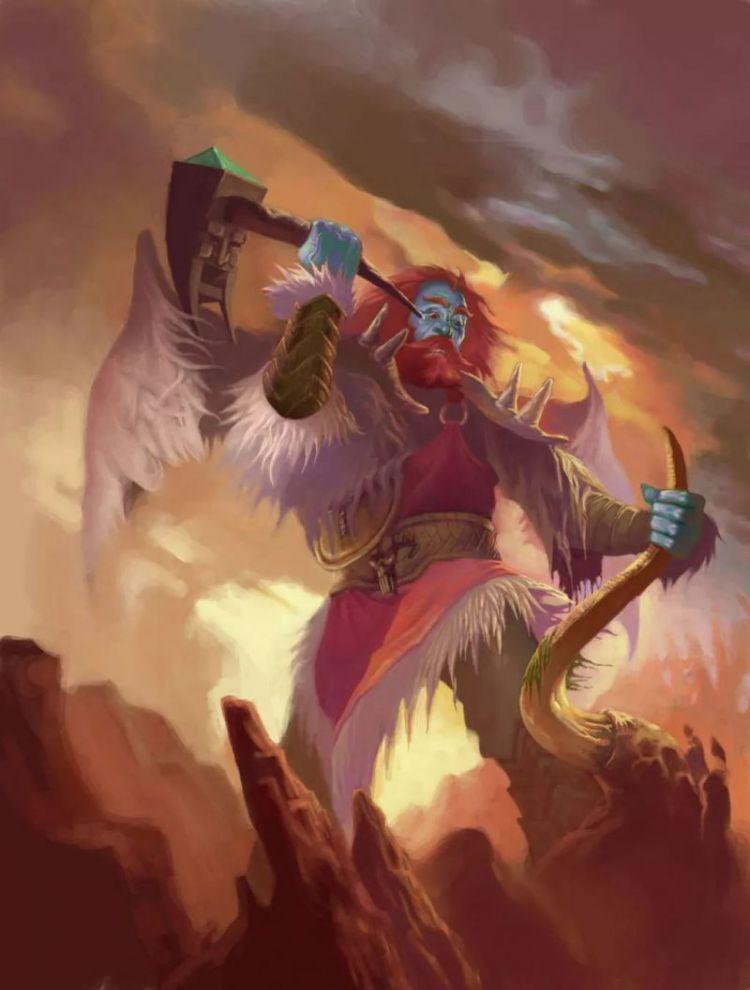 夔牛小议封神|雷震子和九天雷祖大帝啥关系?他身世比哪吒还要神秘!