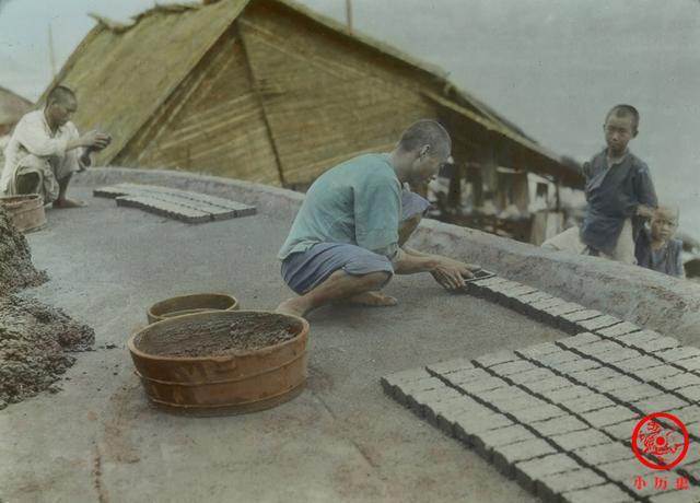 彩色老照片:百年前重庆百姓的日常生活