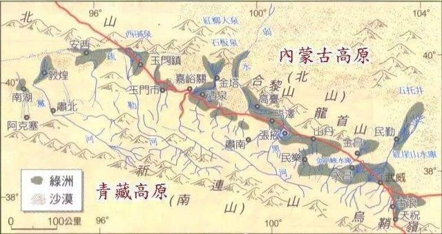 河西走廊只是战略要地吗?现在才明白,它决定了中国历史的走向